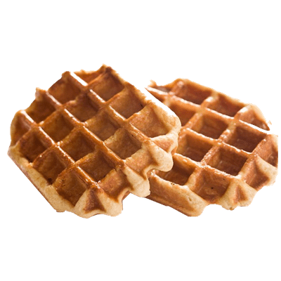 Waffle clipart transparent clipart royalty free download Butter Waffles transparent PNG - StickPNG clipart royalty free download