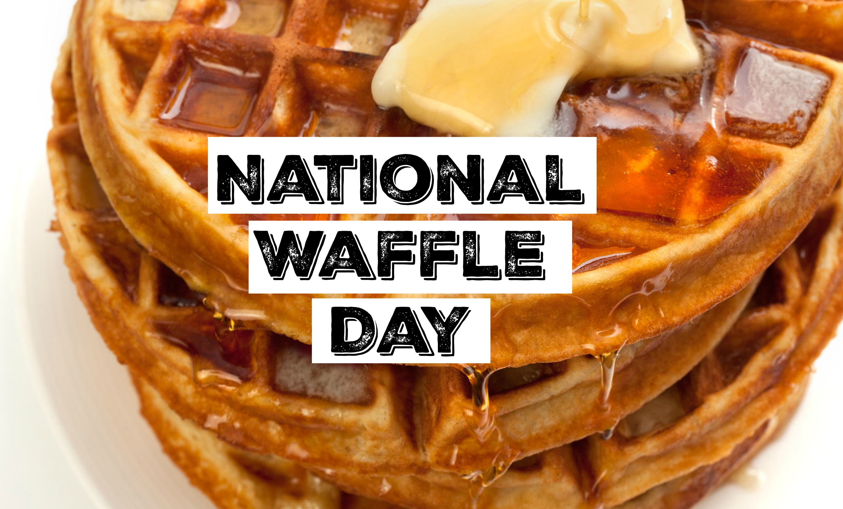 Waffle day clipart jpg black and white stock HipNJ Celebrates National Waffle Day jpg black and white stock