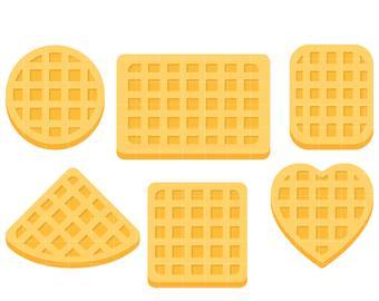 Waffle heart clipart clipart stock Waffle clipart » Clipart Station clipart stock