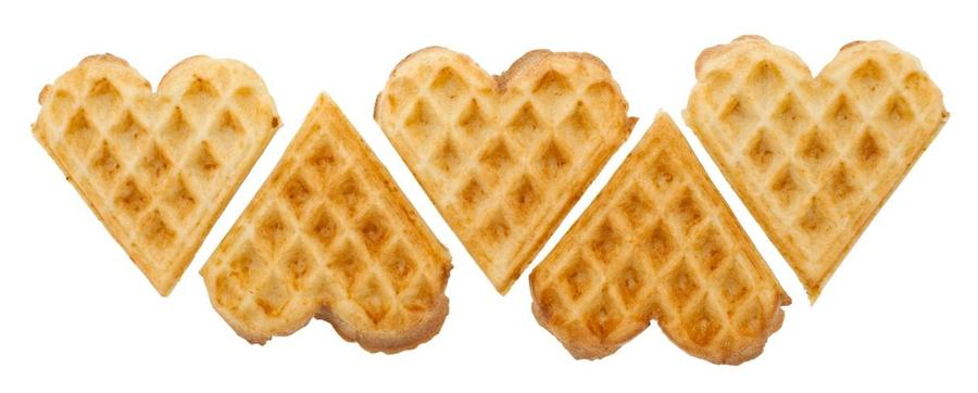 Waffle heart clipart svg library stock Download waffle heart clipart Belgian waffle Pancake svg library stock