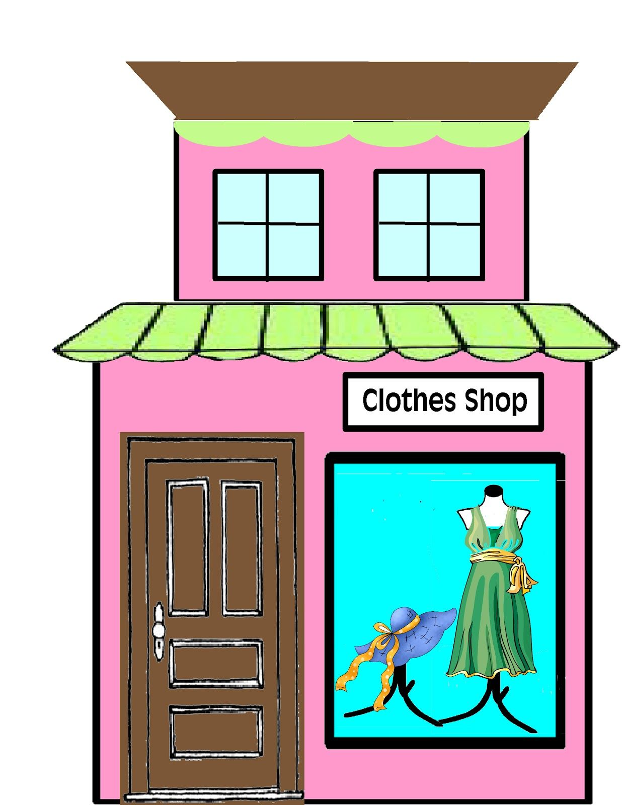 Grocery store building clipart black and white svg free library Storefront clipart victorian - 183 transparent clip arts ... svg free library