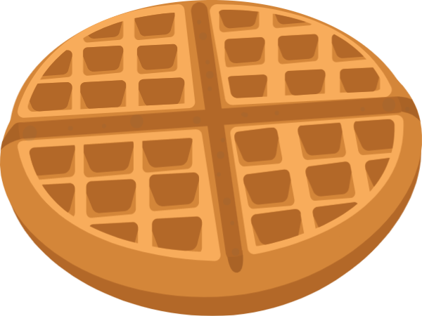 Waffle party clipart transparent Free Online Waffle Afternoon Tea Party Vector For ... transparent