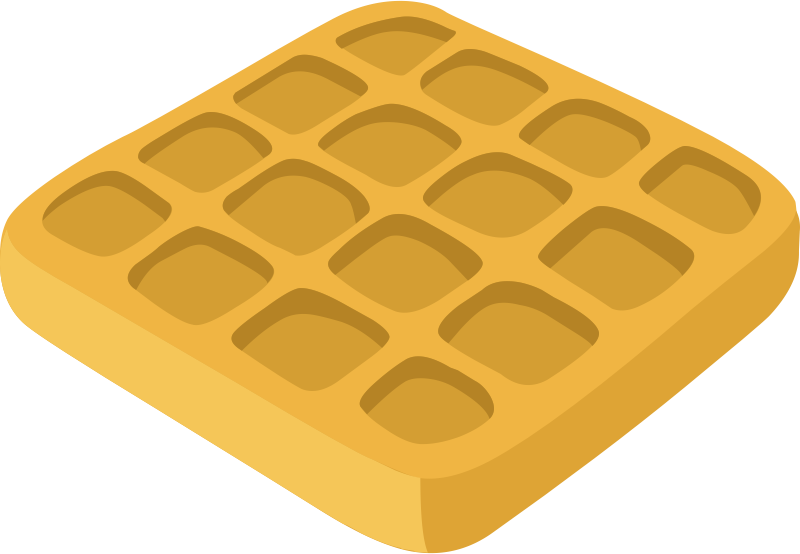 Waffle party clipart image royalty free stock Free Waffle Cliparts, Download Free Clip Art, Free Clip Art ... image royalty free stock