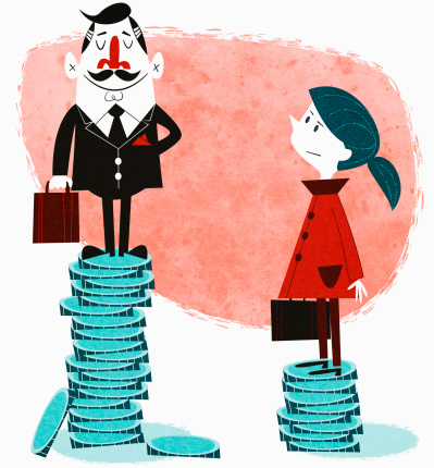 Wage equality clipart clip Biggest Myth About the Gender Wage Gap | Fortune clip