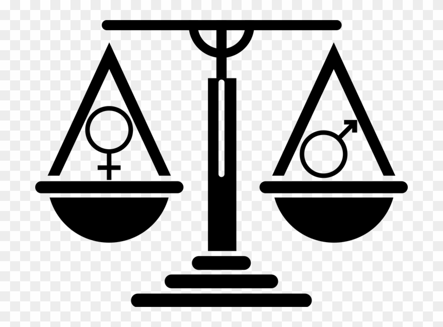 Wage equality clipart image download Gender Pay Gap Remains A Weighty Issue - Scales Symbol ... image download