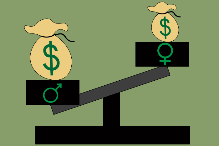 Wage equality clipart png black and white library Mending Attitudes and the Wage Gap — The Heights png black and white library