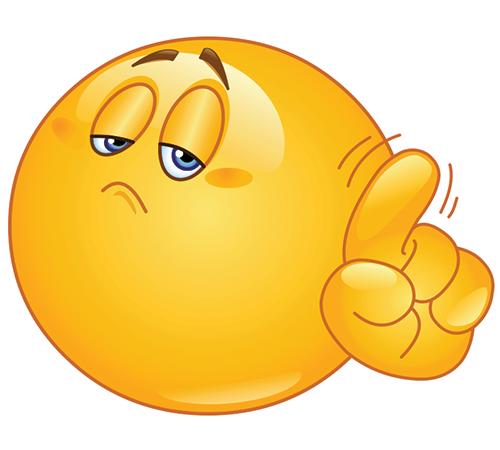 Wagging finger retro clipart vector free stock Wagging His Finger   Smileys   Emoji symbols, Funny emoji ... vector free stock