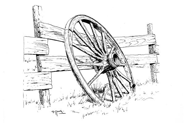 Wagon wheel clipart black and white vector black and white download Free Wagon Wheel Cliparts, Download Free Clip Art, Free Clip ... vector black and white download