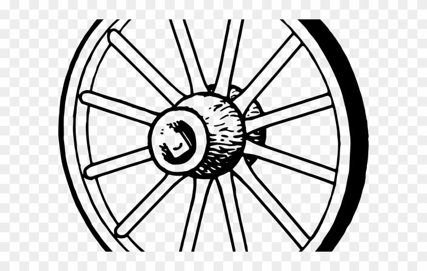 Wagon wheel clipart black and white clip art royalty free Wheel Clipart Wagon Wheel - Wheel And Axle Clip Art - Png ... clip art royalty free
