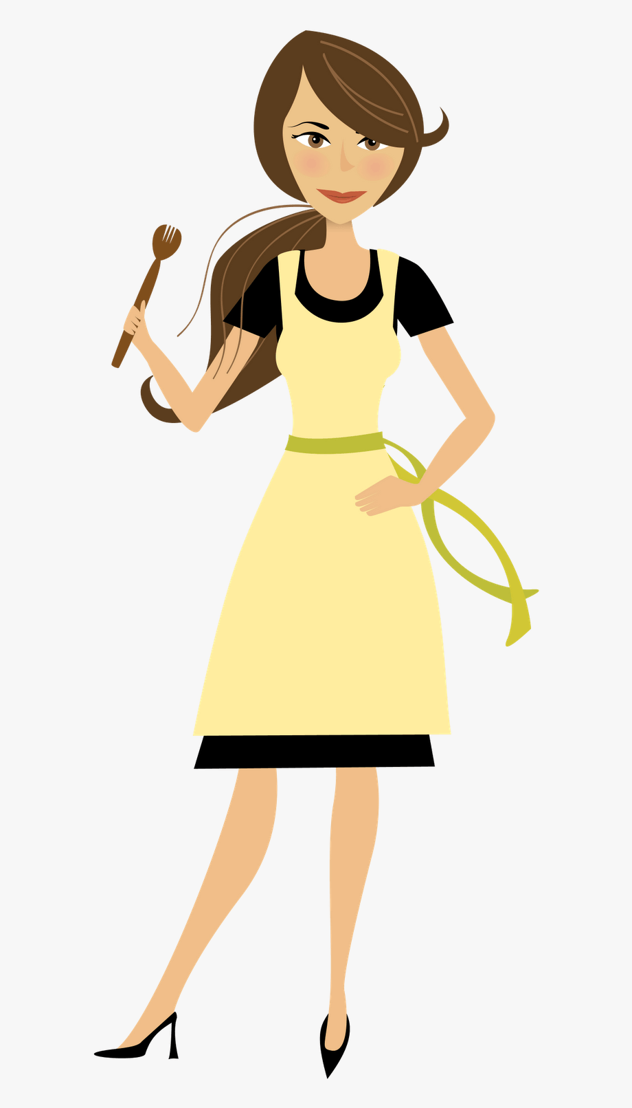 Wait mom clipart jpg download Cooking Mom Clipart - Cartoon Mom, Cliparts & Cartoons - Jing.fm jpg download