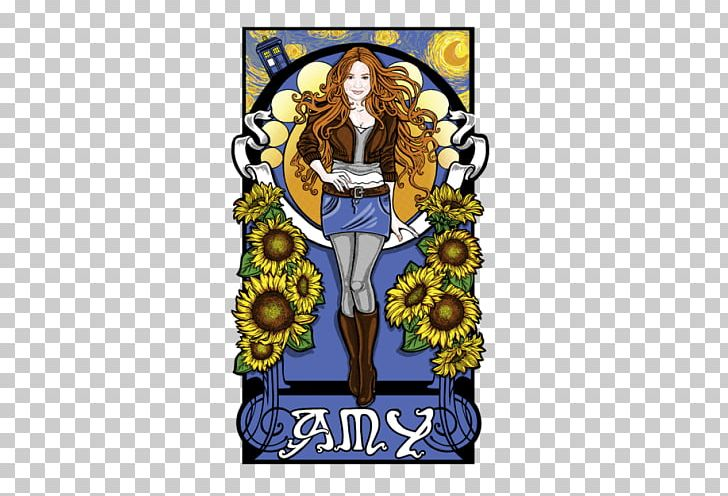 Waited service clipart png transparent stock Amy Pond The Starry Night Sunflowers Printmaking The Girl ... png transparent stock