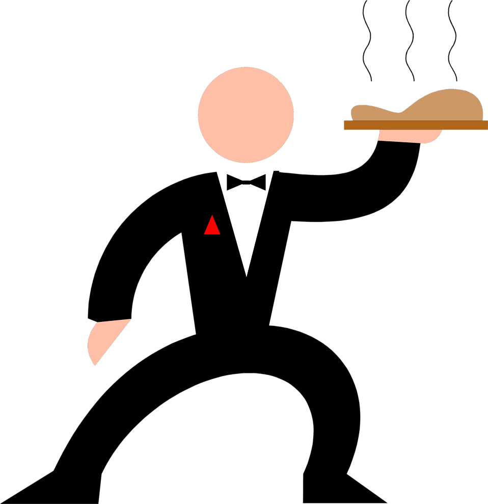 Waiter carrying tray clipart graphic download Waiter Pictures   Free download best Waiter Pictures on ... graphic download