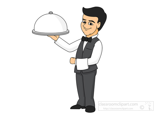 Waiter pictures clipart clipart freeuse Restaurant waiter clipart 12 » Clipart Station clipart freeuse