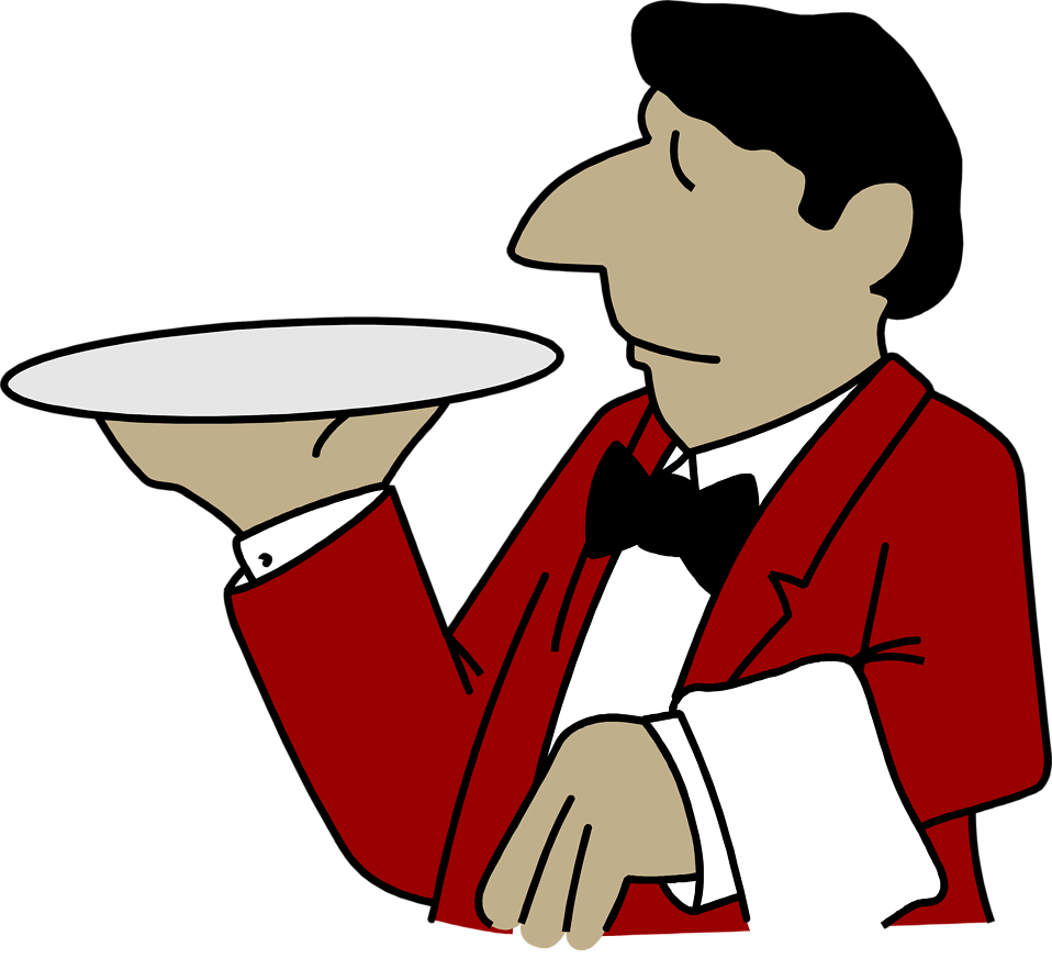 Waiter pictures clipart freeuse library Free Waiter Pictures, Download Free Clip Art, Free Clip Art ... freeuse library