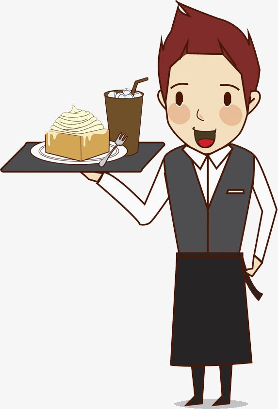 Waiter pictures clipart clip black and white library Waiter clipart png 2 » Clipart Portal clip black and white library