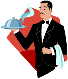 Waiter pictures clipart picture free stock 5+ Waiter Clipart | ClipartLook picture free stock