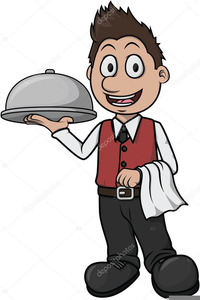 Waiter pictures clipart banner royalty free Waiter Clipart Images | Free Images at Clker.com - vector ... banner royalty free