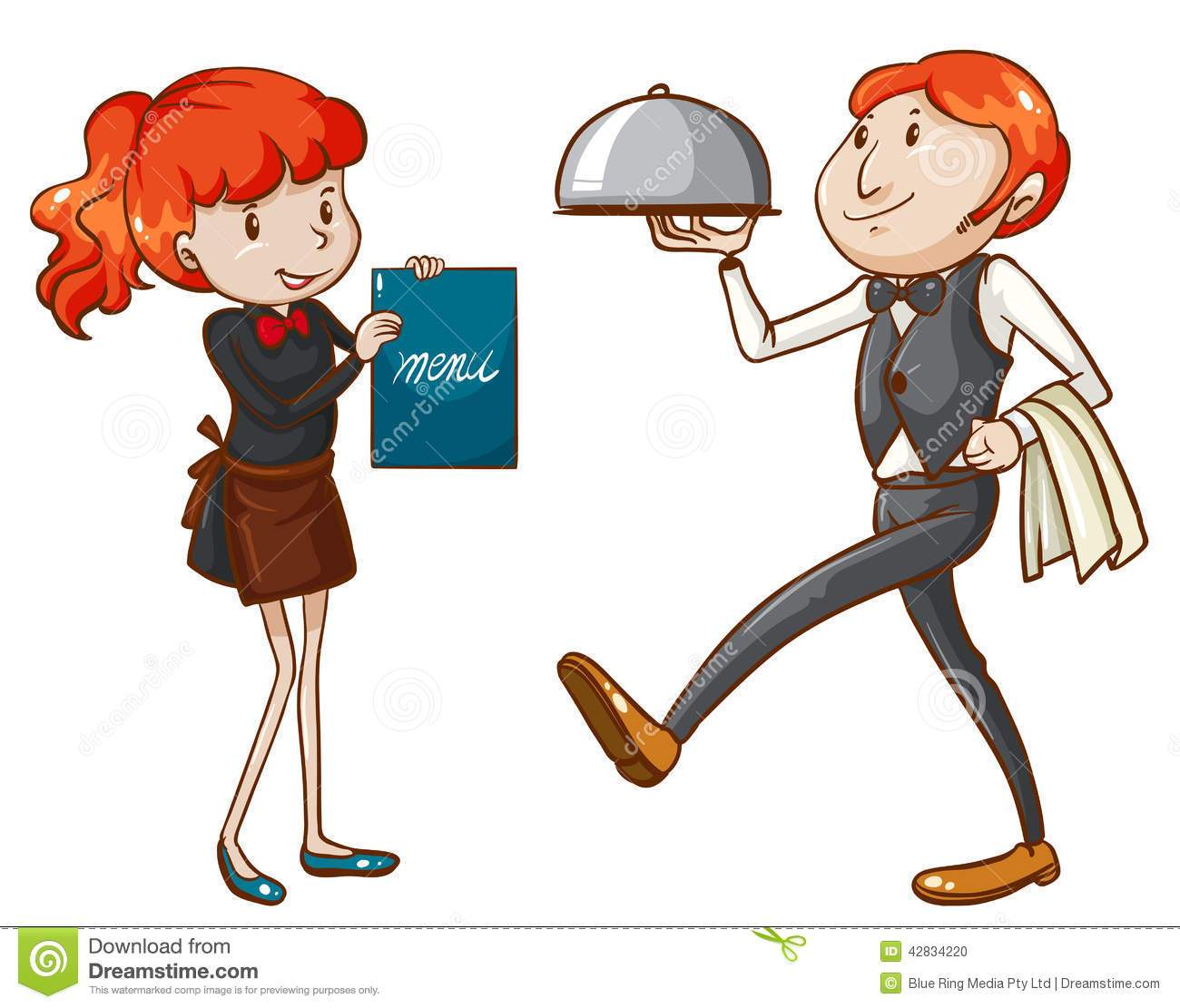 Waiters and waitresses clipart image transparent Waiter and waitress clipart 7 » Clipart Portal image transparent