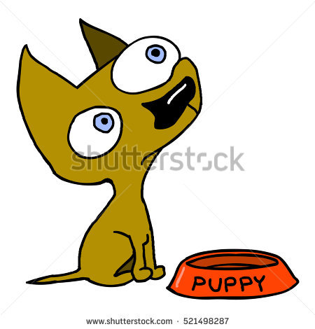 Waiting for food clipart clip royalty free library Dog Waiting Stock Photos, Royalty-Free Images & Vectors - Shutterstock clip royalty free library