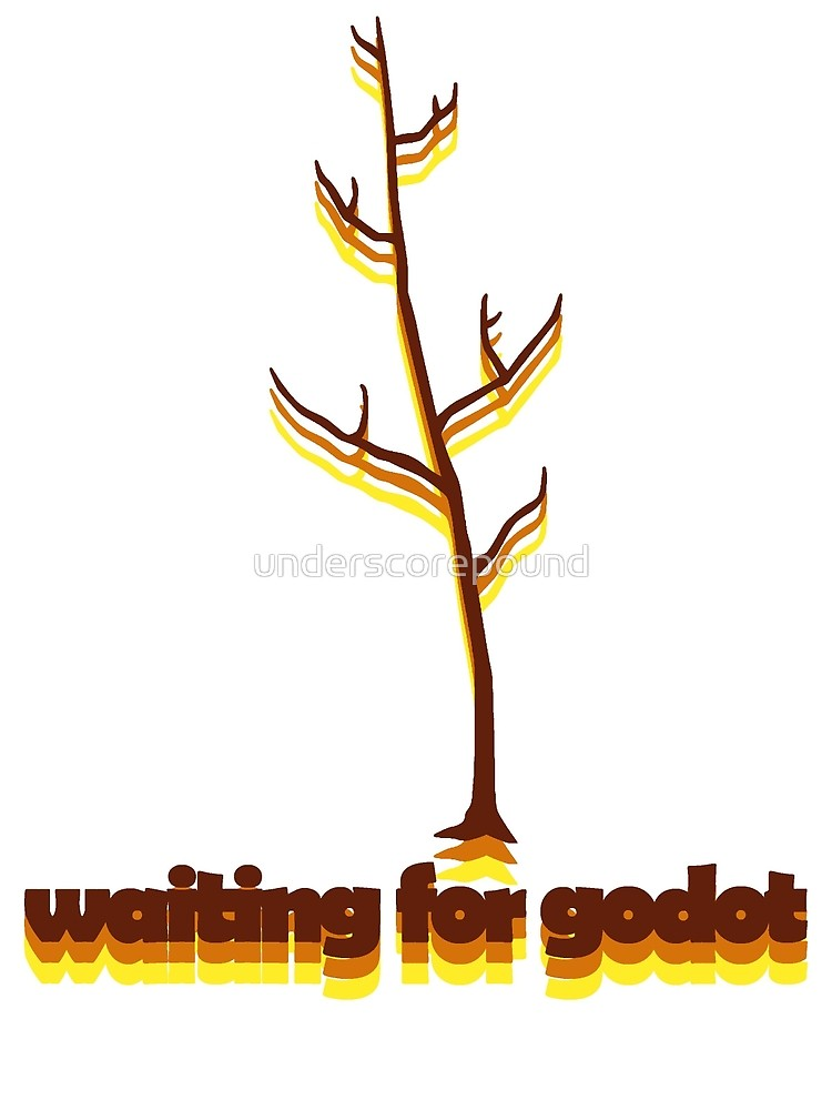 Waiting for godot clipart svg free library Waiting For Godot | Photographic Print svg free library
