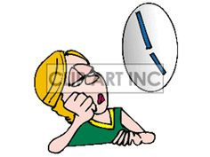 Waiting with clock clipart jpg free stock clock watching clip art | Office Worker Watching the Clock for ... jpg free stock