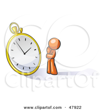 Waiting with clock clipart jpg download Royalty Free Waiting Illustrations by Leo Blanchette Page 1 jpg download