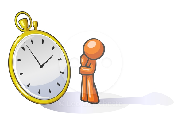 Waiting with clock clipart vector free stock Person waiting clipart - ClipartFox vector free stock