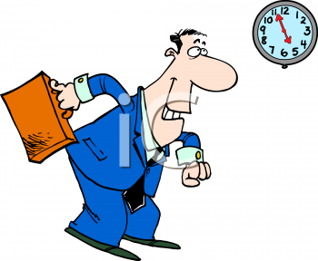 Waiting with clock clipart clipart library download clock watching clip art | Office Worker Watching the Clock for ... clipart library download