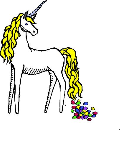Waitress unicorn clipart clip art black and white Under Cover Waitress: Springs1 Ranch Dressing | Clipart from ... clip art black and white