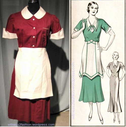 Waitress unifroms in 1940 clipart image stock 1950s paris waitress - Google Search | Upcoming play ideas ... image stock