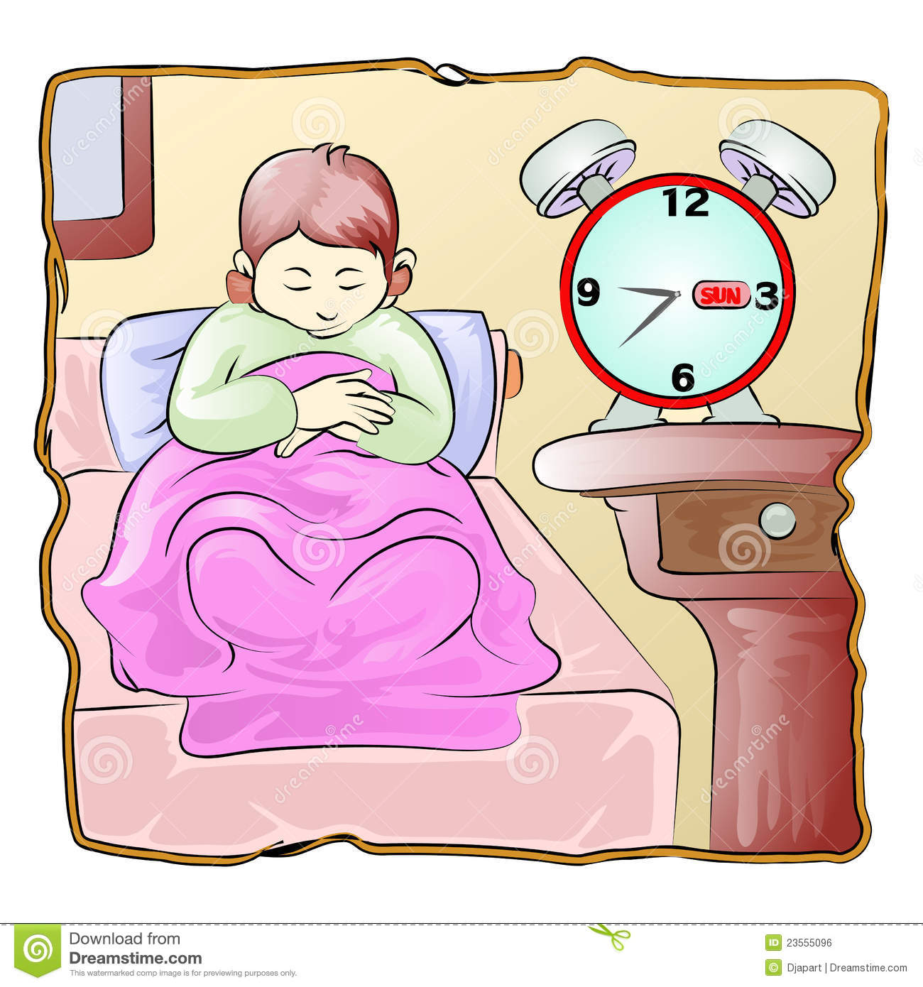 Wake up early in the morning clipart clip freeuse stock Wake Up Boy Stock Illustrations – 83 Wak #39112 ... clip freeuse stock