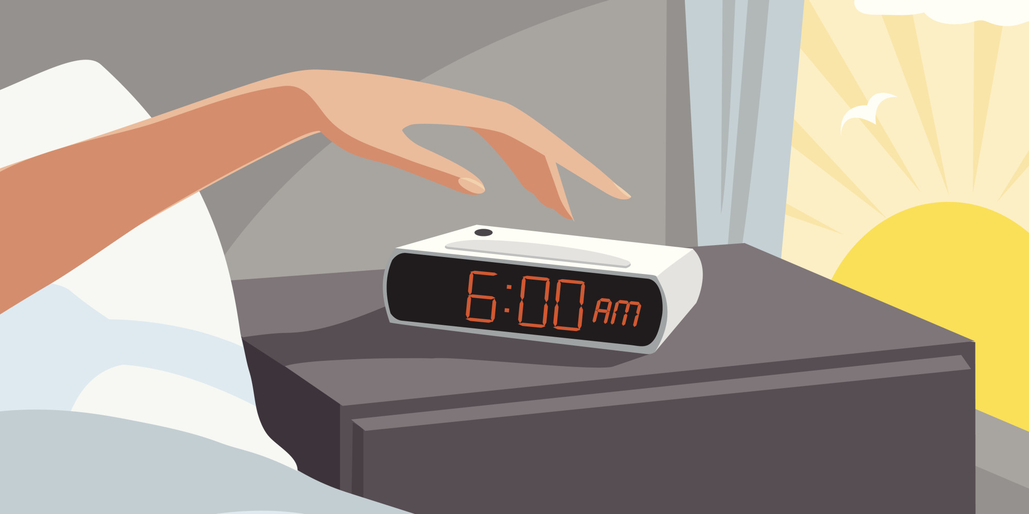 Waking up at 7am clipart image black and white library Free Wake Up, Download Free Clip Art, Free Clip Art on ... image black and white library