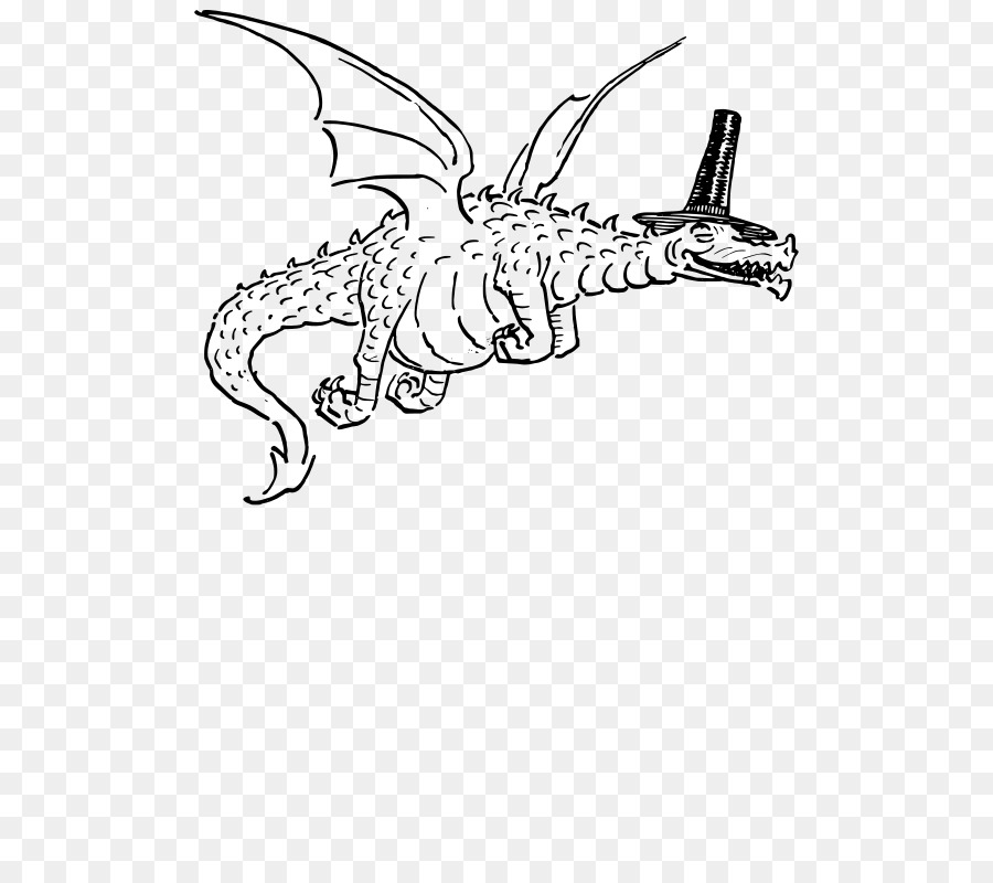 Wales clipart black and white png royalty free Black And White Book clipart - Dragon, Hand, Tree ... png royalty free