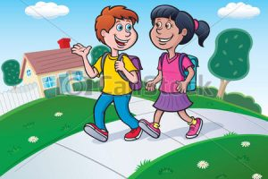 Waling home clipart clipart library Walking home clipart 1 » Clipart Station clipart library