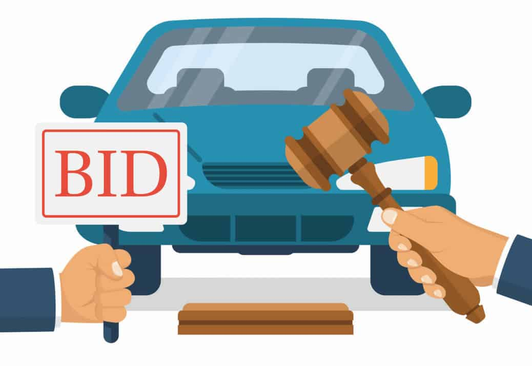 Walk and bid clipart banner True Stories From A Former Car Dealer #25: Auctions | CarProUSA banner