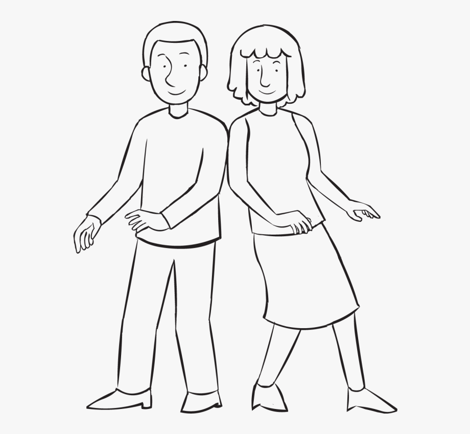 Walk clipart line drawing royalty free download Lean Walk - Line Art - Line Art #1720769 - Free Cliparts on ... royalty free download
