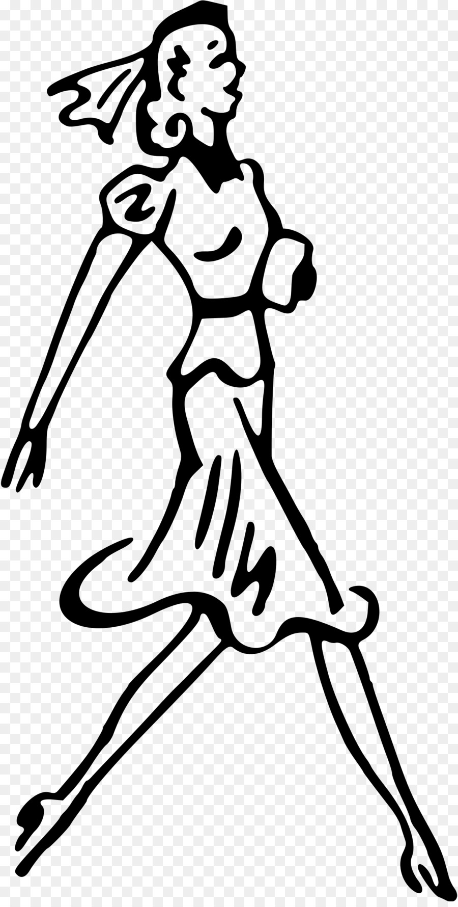 Walk clipart line drawing png royalty free library Black Line Background png download - 1221*2400 - Free ... png royalty free library