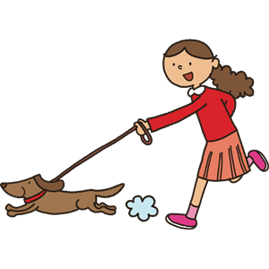 Walk dog free clipart clipart download Walking the Dog clipart, cliparts of Walking the Dog free ... clipart download