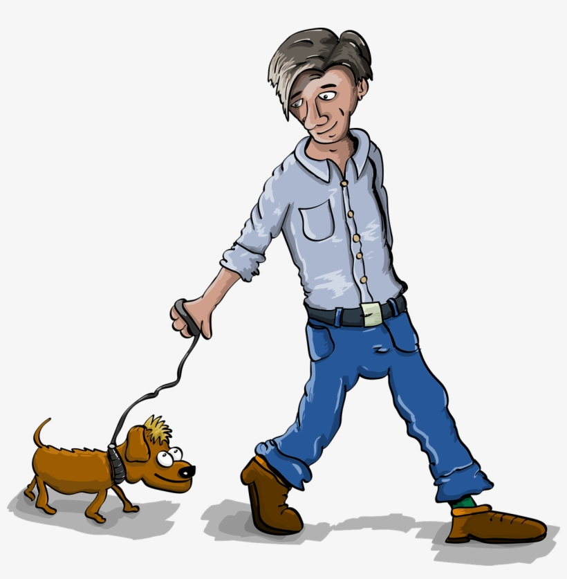"""Walk dog free clipart png freeuse library hunde Gassi Service"""" - Clipart Person Walking Dog ... png freeuse library"""