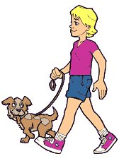 Walk dog free clipart svg library download walk-dog | Clipart Panda - Free Clipart Images svg library download