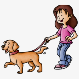 Walk dog free clipart svg freeuse Free Dog Walking Clipart Cliparts, Silhouettes, Cartoons ... svg freeuse