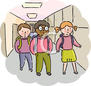 Walk in hall clipart picture freeuse Students Walking In Hallway Clipart (102+ images in ... picture freeuse
