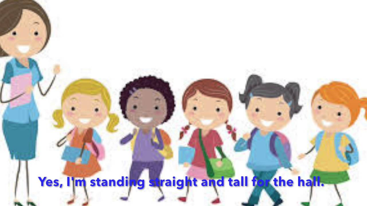 Walk in line clipart svg freeuse Walking in line clipart 5 » Clipart Station svg freeuse