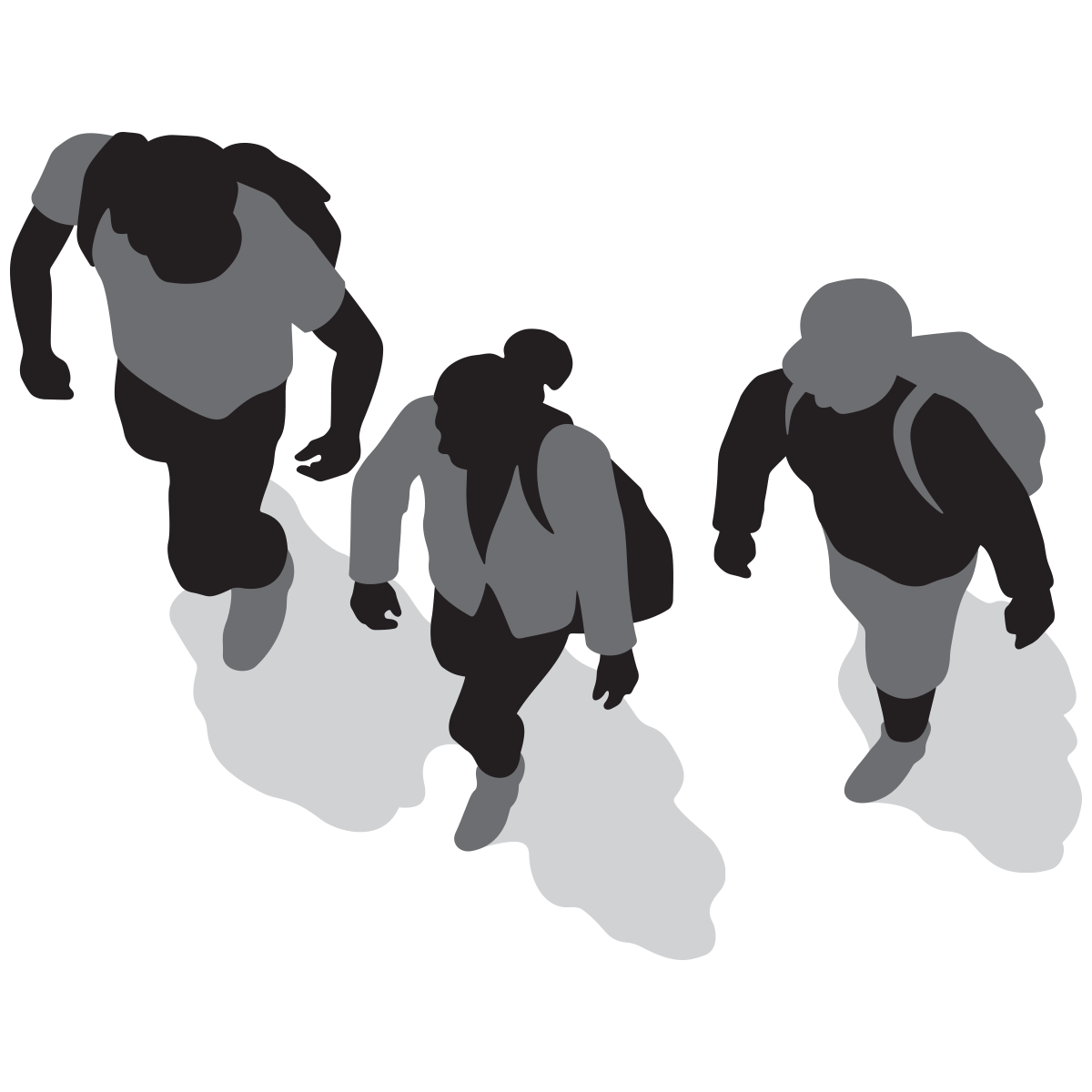 Walk to school clipart black and white picture black and white download Walk To School PNG Black And White Transparent Walk To School Black ... picture black and white download