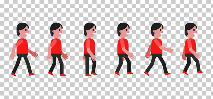 Walk with style clipart vector royalty free download Walk Cycle Walking Animation Euclidean PNG, Clipart, Black ... vector royalty free download