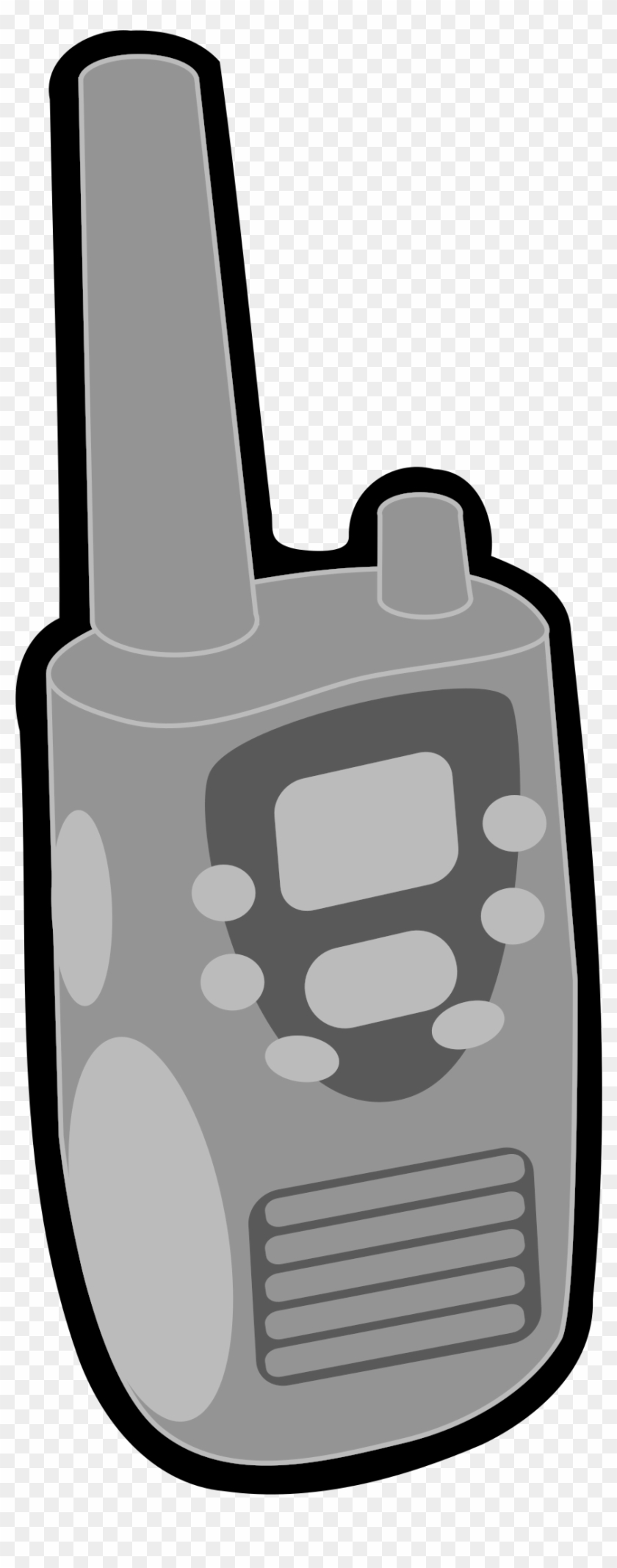 Walkie talkie image clipart vector freeuse This Free Icons Png Design Of Walkie Talkie , Png Download ... vector freeuse