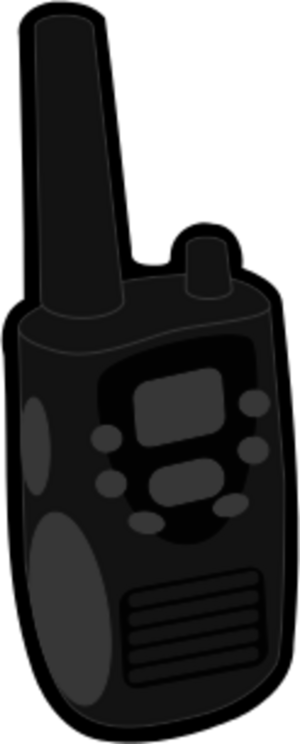 Walkie talkies clipart transparent