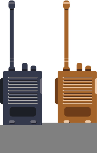 Walkie talkie image clipart clip art library stock Clipart Walkie Talkie | Free Images at Clker.com - vector ... clip art library stock