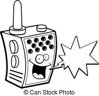 Walkie talkie radio clipart image royalty free download Walkie talkie Clipart and Stock Illustrations. 3,330 Walkie ... image royalty free download