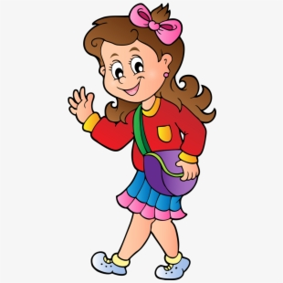Walking abc clipart image transparent Png School Clip Art And Craft - Kids Walking To School ... image transparent